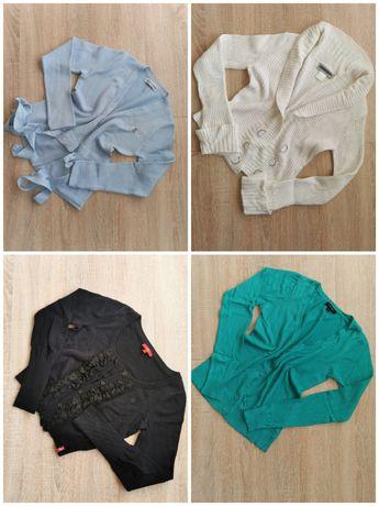 Rozpinane sweterki - różne rozmiary