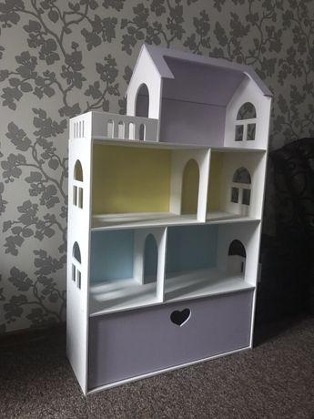 Кукольный домик с ящиками 130х80х30