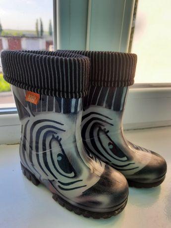 Гумові чоботи Демар, резиновые сапожки Demar 24/25 размер