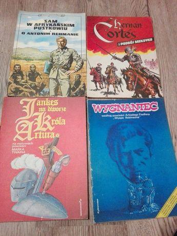 Cztery komiksy z lat  osiemdziesiątych