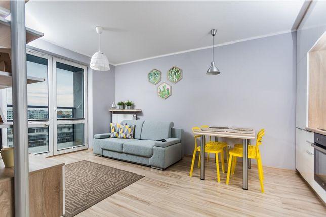 Nowoczesny apartament na doby na 10 piętrze z pięknym widokiem