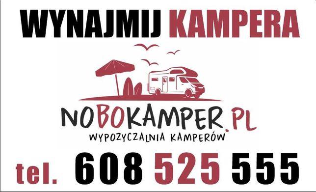 Nowe kampery do wynajęcia. Wynajem kampera Łódź  NoBoKamper.pl