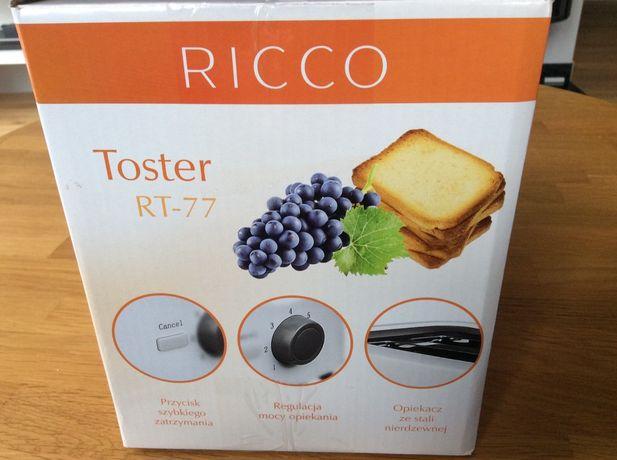 Toster Ricco RT-77 Rezerwacja