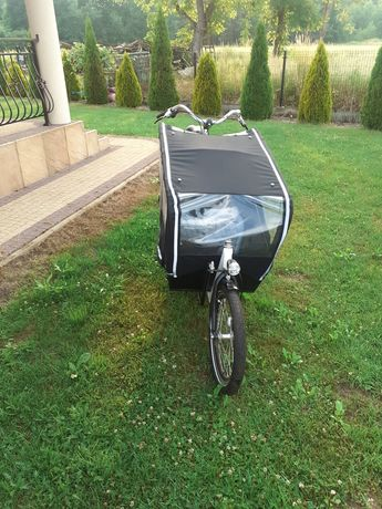 Rower cargo bike