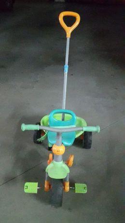 Triciclo (2) verde/azul e Laranja/cinza