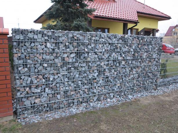 Gabion gabiony ogrodzenie gabionowe - wys. 1,2m