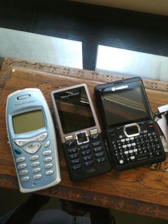 Set 2 telemóveis antigos (o azul já foi vendido)