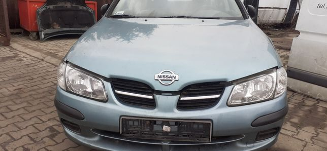 Nissan Almera N16 1.5 benzyna 2001 tylko na części