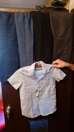 школьная форма ссср брюки рубашка штаны дети вещи винтаж ретро одежда