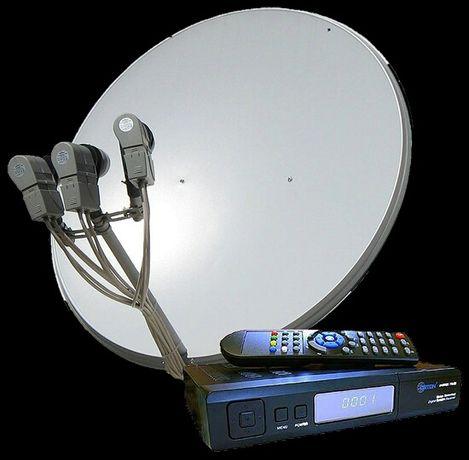 Настройка спутниковой антенны.