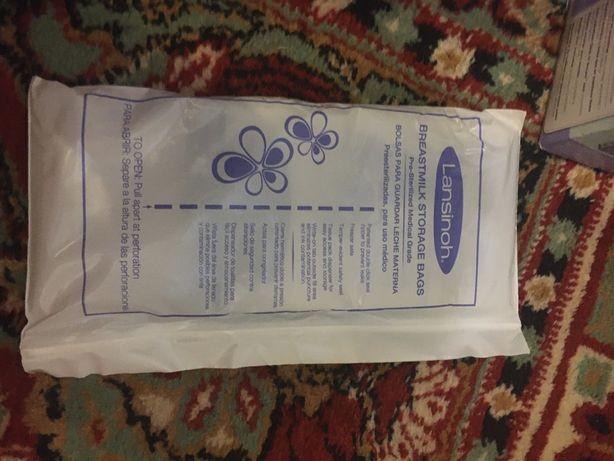 Пакеты для хранения и заморозки грудного молока