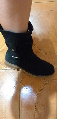 Ботинки женские  замш Shoot