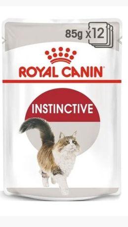 Корм для кошек Royal Canin Instinctive (кусочки в соусе)