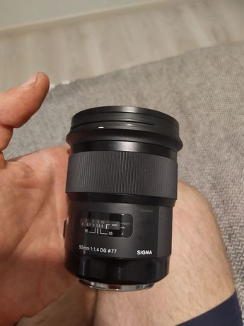 Sigma Ef 50 mm 1.4 art for Canon