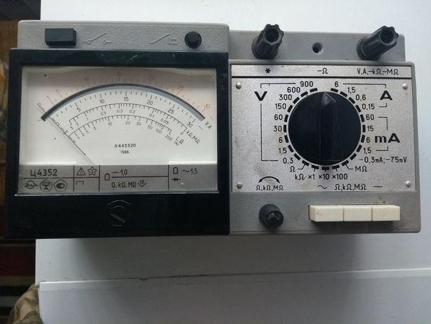 Мультиметр, вольтметр. Ц4352