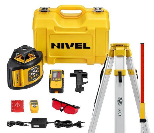 Nivel System NL520 niwelator laserowy + łata + statyw