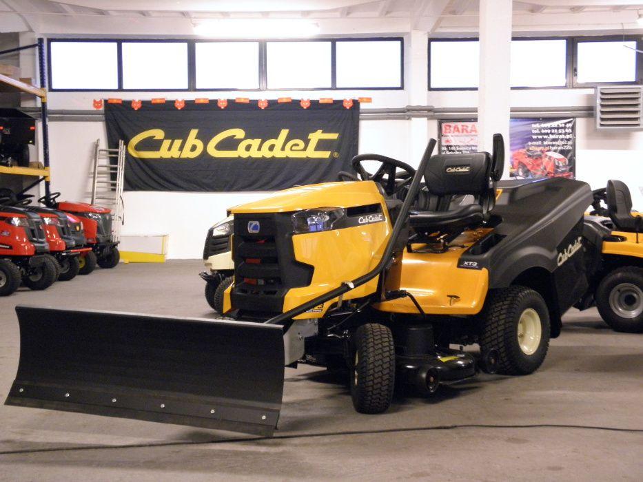 Pług śnieżny do traktorków Cub Cadet XT - Baras Świnice Warckie - image 1