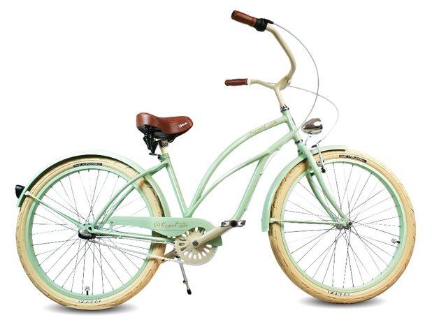 Rower miejski Beach CRUISER Peppermint damski RoyalBi 3 biegowy