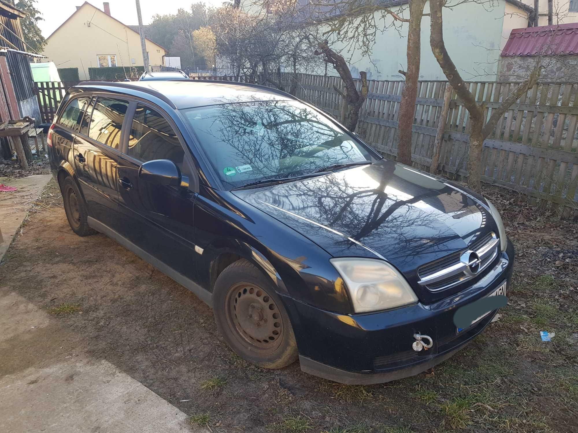 Opel vectra c kombi czarna 1.9 120km 6 biegow wszystkie czesci