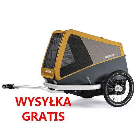 PROMOCJA Croozer Dog L ,XL, XXL Przyczepka dla psa, wózek Nie thule