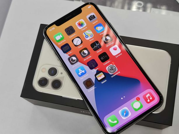 Iphone 11 PRO 64GB/ Silver/ BDB/ Bateria 90%/ Gwarancja