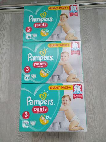 Подгузники-трусики Pampers Pants Midi 3 (6-11 кг)  86 штук