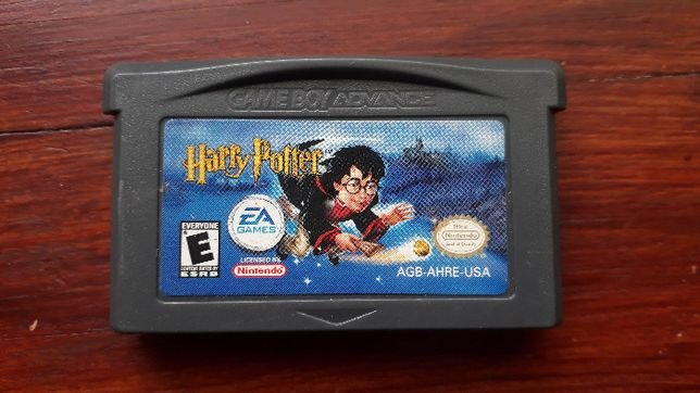 Gra gameboy advance Harry Potter i kamień filozoficzny
