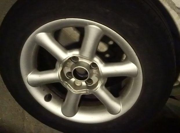 Koła aluminiowe Borbet /4x100/opel itp