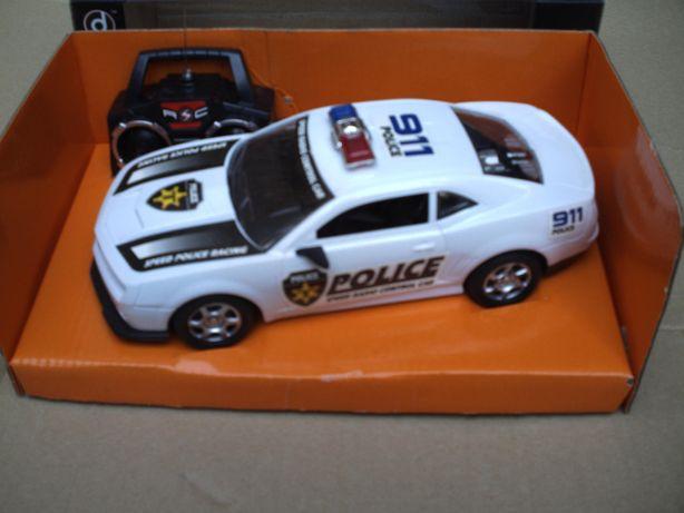 samochód zdalnie sterowany zabawka Policja 1:12 nowy prezent zabawa