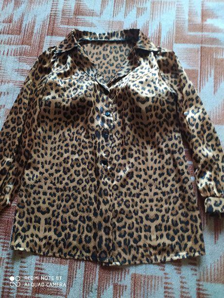 блуза шелковая размер 52