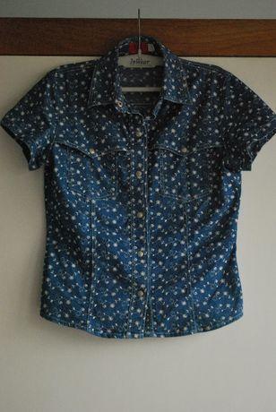 Camisa Homem de Ganga Marca On Jeans (Design By Onara) Tamanho M - 38