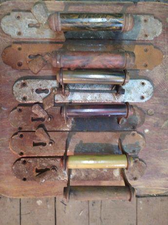 винтажные старинные дверные ручки