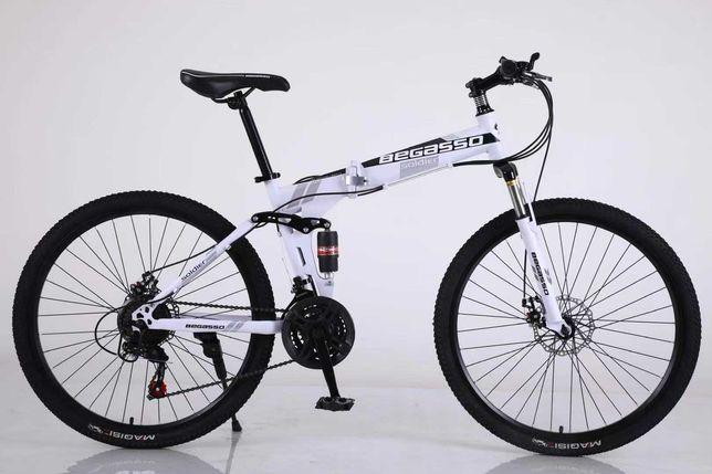 """Велосипед складной 26"""" 17"""" белый, оплата частями моно/приват 6 мес"""