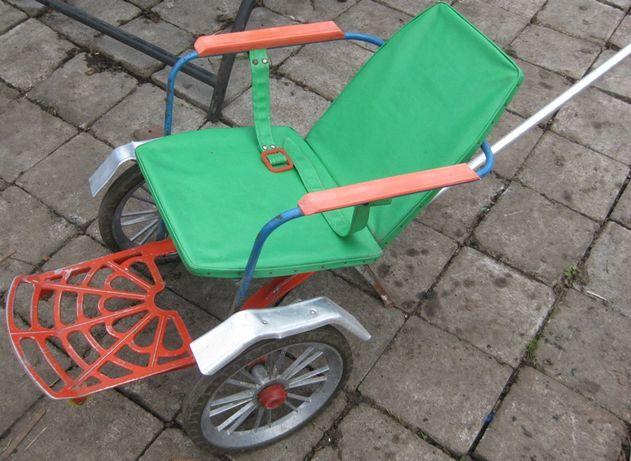 Ретро Каталка, коляска детская для ребенка СССР 70-е