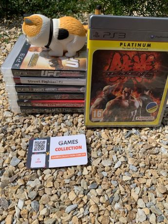 Tekken Mortal ufc injustic Fight street ww 12 13 14 15 16 PS 3