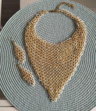 Kompet biżuterii - naszyjnik kolczyki
