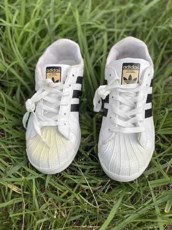 Кроссовки adidas superstar , белые кеды