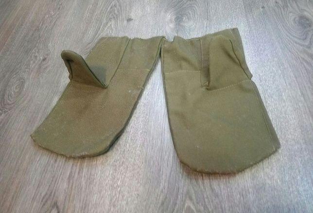 Новые рабочие рукавицы мужские тканевые
