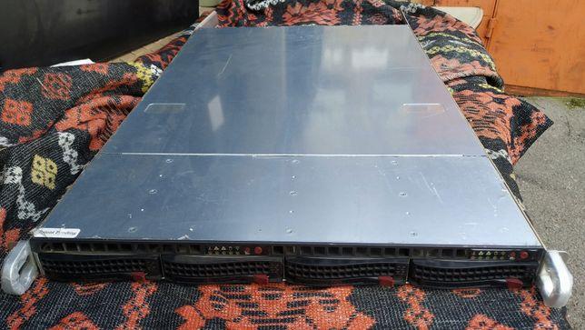 Серверы supermicro 6015t 1u