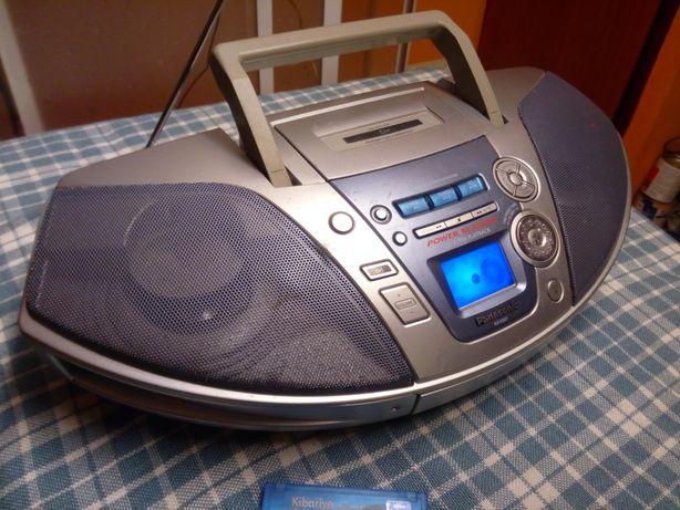 Radiomagnetofon z CD Panasonic RX-ES27. Tanio,!