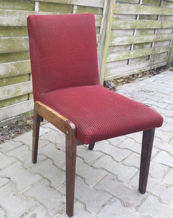 Krzesła z PRL-u 6 sztuk Szczecin - image 1