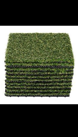 Sztuczna trawa 10 elementów
