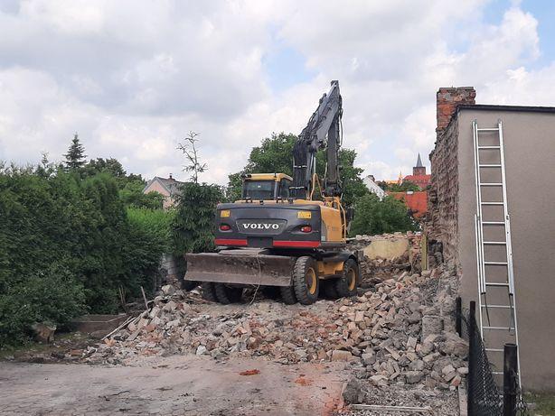 Wyburzenia Budynków, Rozbiórka i Transport