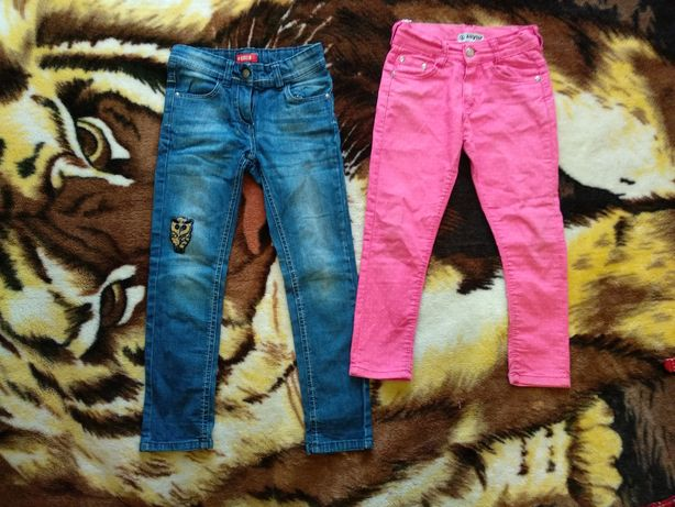 Пакет вещей одяг для дівчинки платье джинсы