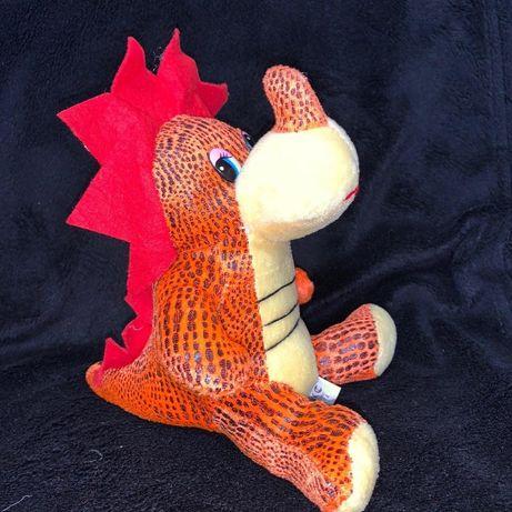 НОВАЯ мягкая игрушка динозаврик дино динозавр 20 см два цвета
