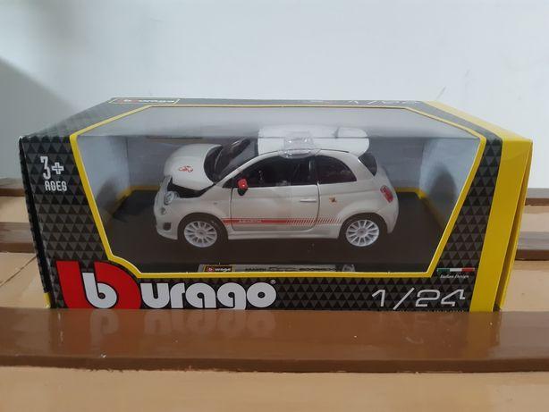 Fiat 500 Abarth, Burago, 1/24