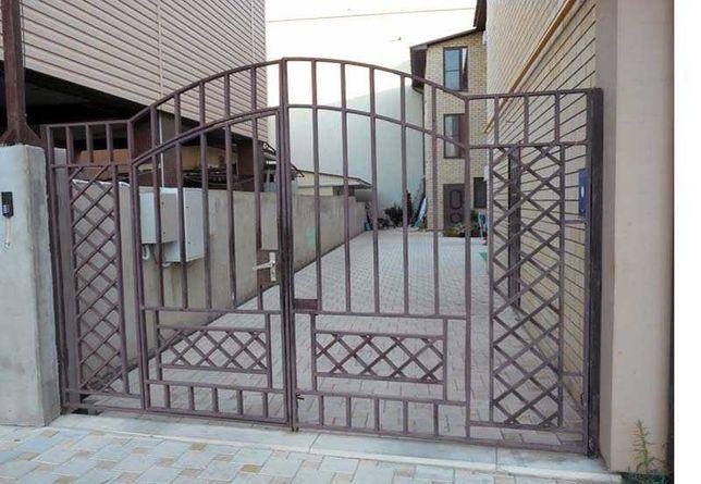 пандус ворота огорожа лавки зварювальні роботи