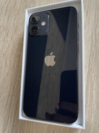 Apple iPhone black czarny  12 mini 64 gb gwarancja!