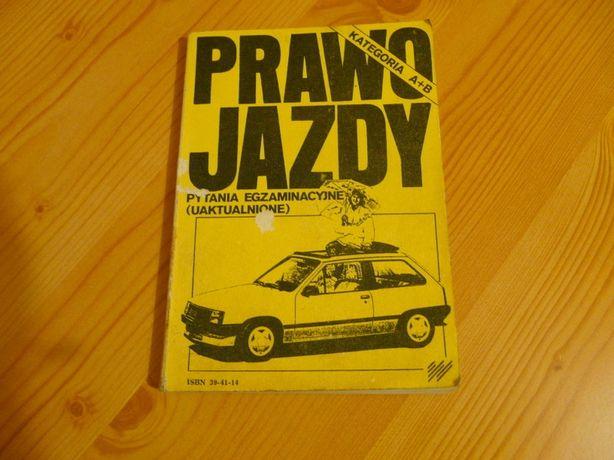 Stara książka do nauki jazdy