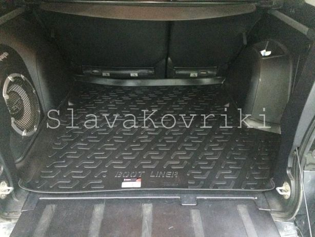Ковёр в багажник Mitsubishi Outlander XL 03-2017,аутлендер 1;2;3 хл